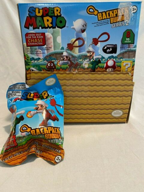 NEW Super Mario Backpack Buddies Blind Bags Sealed *3pc*