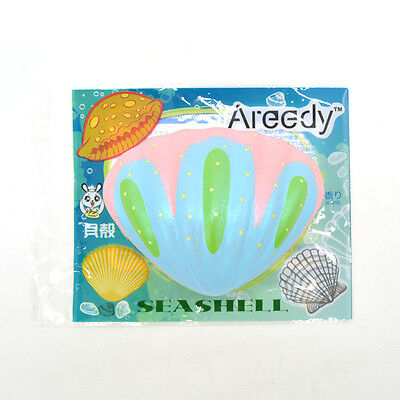 Areedy New Squishy Sea Shell Scented Slow Rising Bread Soft Press Toys Licensed