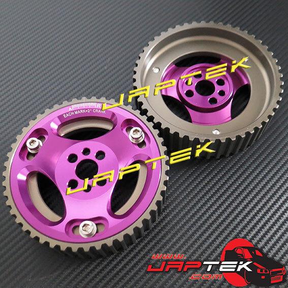 Adjustable Cam Gear Pulley for Nissan Skyline R32 R33 R34 RB20 RB25 RB26 GTS GTR