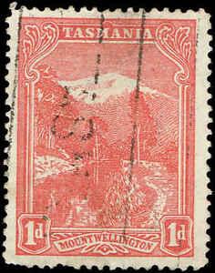 """Scott # 103 - 1905 - """"le Mont Wellington""""-afficher Le Titre D'origine"""