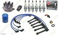 Tune-up Kit Cap Rotor Ngk Wires-spark Plug 1998-1999 Honda Accord V6 3.0l