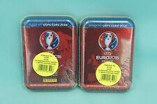 Panini Adrenalyn Road to Uefa Euro 2016 2 x Mini Tin Box + Pirlo Limited Edition