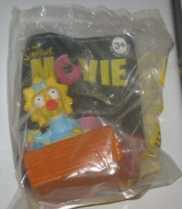 2007 The Simpsons Movie Burger King Kids Meal Toy Maggie Ebay