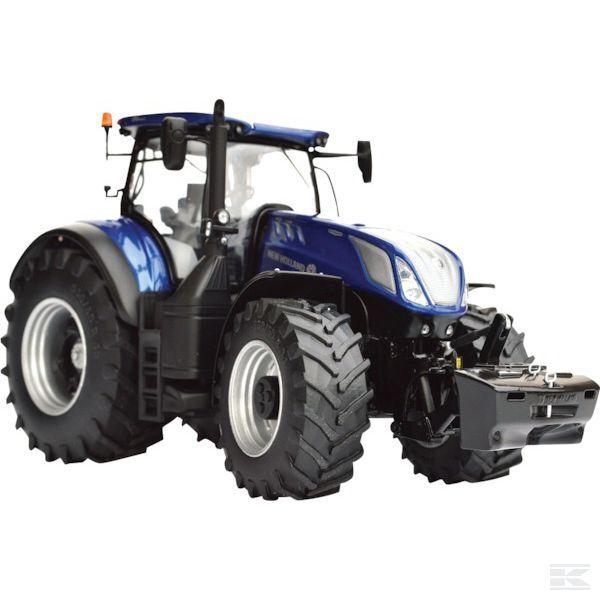 Marge MODELS NEW HOLLAND T7.315  Bleu  Puissance Tracteur échelle 1 32 Modèle eau Jouet