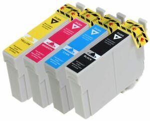 4-Ink-cartridges-for-Epson-Stylus-S22-SX125-SX130-SX435W-SX235W-BX305FW-Printer