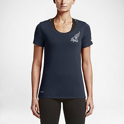 Activewear Tops Honey Nike Women's Team Usa 2016 Olympic Trials Dri-fit Shirt 801611 451 Clients First