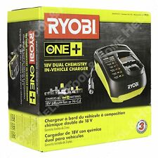 Ryobi P131 18V Dual Chemistry In-Vehicle Battery Charger New Automotive Car DC