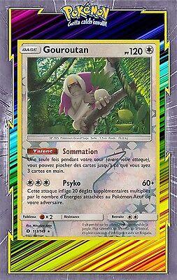 Carte Pokemon GOUROUTAN 113//149 Holo REVERSE Soleil et Lune 1 Française NEUF