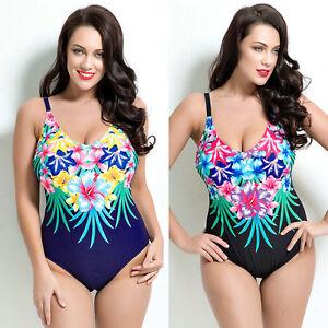 Women One Piece Swimwear Beach Dress Bathing Suit AU Size 10 12 14 ... 94f8e8ebf4