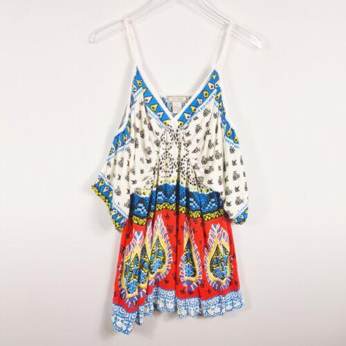 Flying Tomato Womens Cold Shoulder Short Dress Si… - image 1