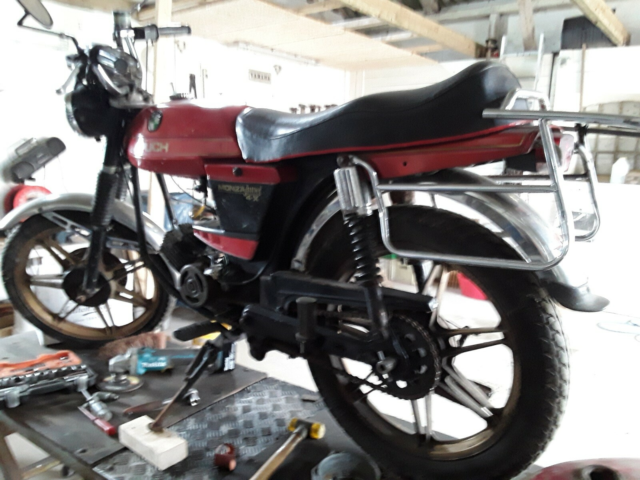 Puch Puch monza juvel , 1979, ? km, Candy rød, Rigtig fin…