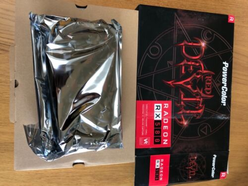 Red Devil RX580 8GB PowerColor GPU Gaming Card Graphic Card AMD Radeon