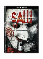 Saw: The Complete Movie Collection [dvd + Digital] Free Shipping