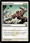 TEMPERED STEEL Scars of Mirrodin MTG White Enchantment RARE