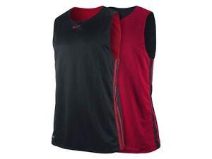 Nike Hustle Basketball Vest Reversible Sleeveless T Shirt Red