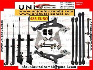 14x Bracci Oscillanti Ant. Post 4x Ammortizzatore ALFA 147 156 GT