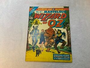 MGM-Marvel-DC-Marvelous-Wizard-of-Oz-1-Collectible-1st-Treasury-Garland-VINTAGE
