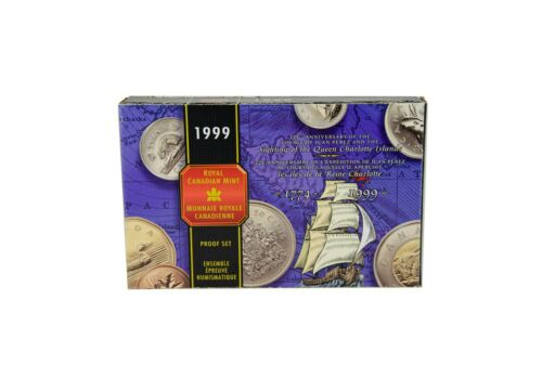 1999 Sterling Silver 8-Coin Set with Proof Dollar Voyage of Juan Perez RCM