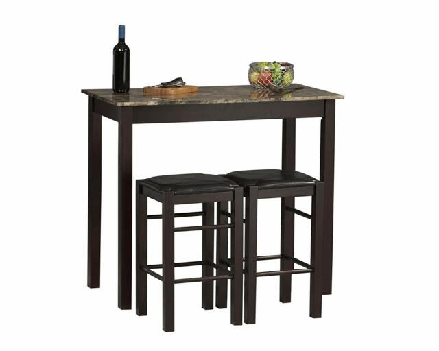 Super Small Kitchen Table W Stools Tall Set For High Breakfast Pub Nook Bar Space Top Pabps2019 Chair Design Images Pabps2019Com