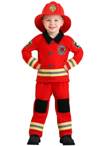 Toddler Friendly Firefighter Costume
