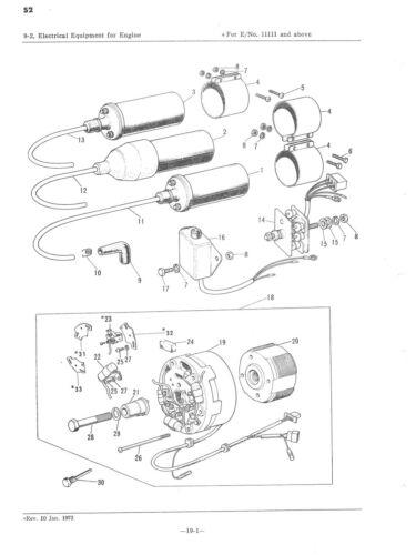 5 sur 6 kawasaki parts manual s2 s2 a mach ii 1973 replacement spares  catalog list