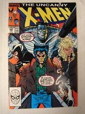 X-MEN UNCANNY #245 MARVEL COMIC HIGH GRADE JUNE 1989