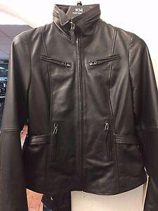 promo code 69364 152c6 Details zu Damen Freizeit Mode Leder Schwarze Jacke Style 4038 / Räumung