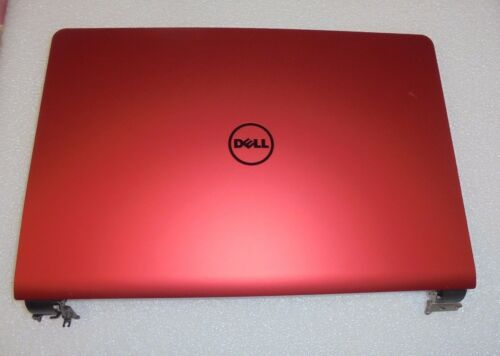 DELL Inspiron 14-7557 7559 RED LCD Back Cover W//Hinges NIA01 0F86J6 F86J6