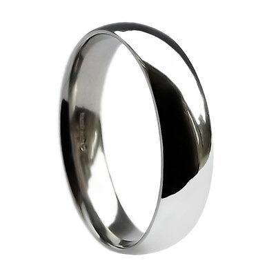 Kraftvoll 8mm 925 Sterling Silver Wedding Band Ring Court Comfort Uk Hallmarked Solid I-z4