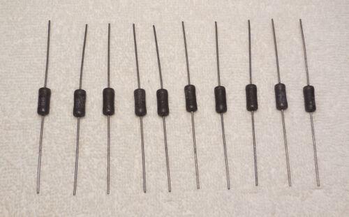 10K Ohm Milspec Dale RS-2C Wire Power Resistors 1/% RW-69 MIL-R-26 NOS 10 Qty