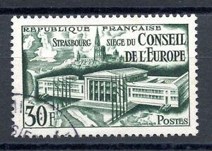 Architecture Stamp Timbre France Oblitere Numero 923 Conseil De L'europe