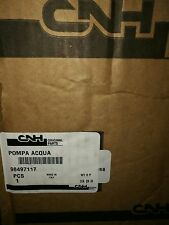 POMPA ACQUA PER TRATTORI FIAT FORD NEW HOLLAND 98497117 ORIGINALE