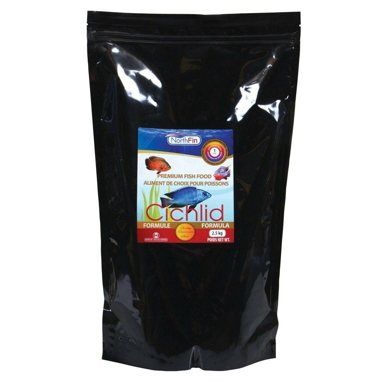 Northfin Ciclide Formula 1mm Pellet 2.5Kg Onnivora Carnivoro Premium Pesce Cibo