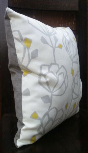 """John Lewis Cushion Cover//16/""""x16/""""// HEIDI Fabric,Sulphur"""