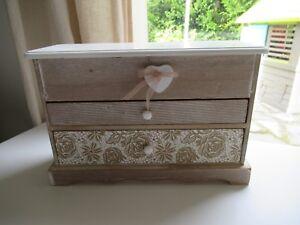 chargement de limage en cours boite a bijoux en bois mini commode maison