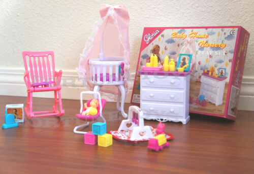 NEW GLORIA HOUSE FURNITURE BABY HOME NURSERY Playset 9929
