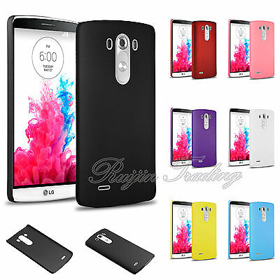 For LG G3 Premium Ultra Slim Thin Fit Matte PC Hard Back Case Skin Cover
