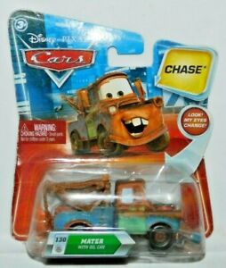 VHTF DISNEY CARS DIECAST Mater With Oil Can /& Changing Eyes Chase*