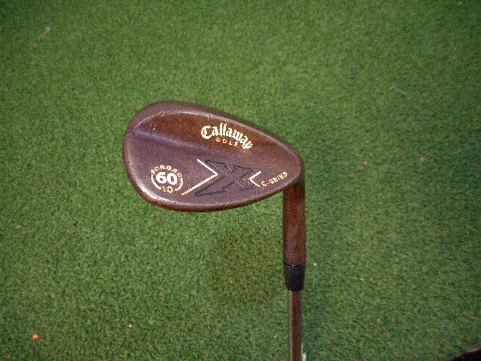 Utilizado Callaway X-forged Vintage C Grind 60.10  Lw Lob Wedge Cuña Flexible De Acero