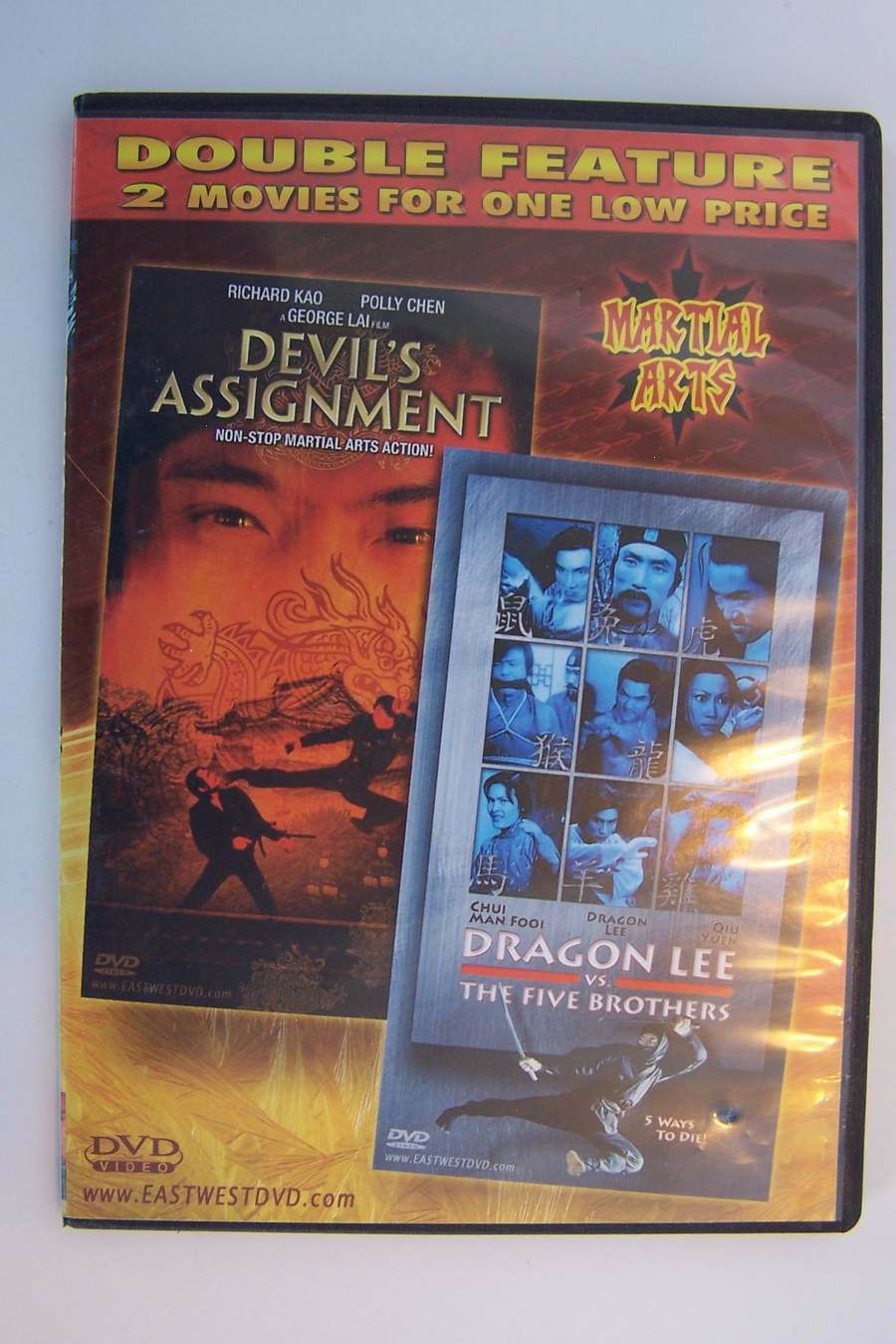 Double Feature: Devil's Assignment/Dragon Lee vs The Fi