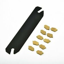 10cut Off Grooving Partting Inserts Grooving Parting Tool Holder Spb26 3