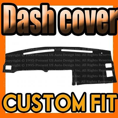 Fits 2006-2009  HUMMER H3  DASH COVER MAT DASHBOARD PAD / BLACK