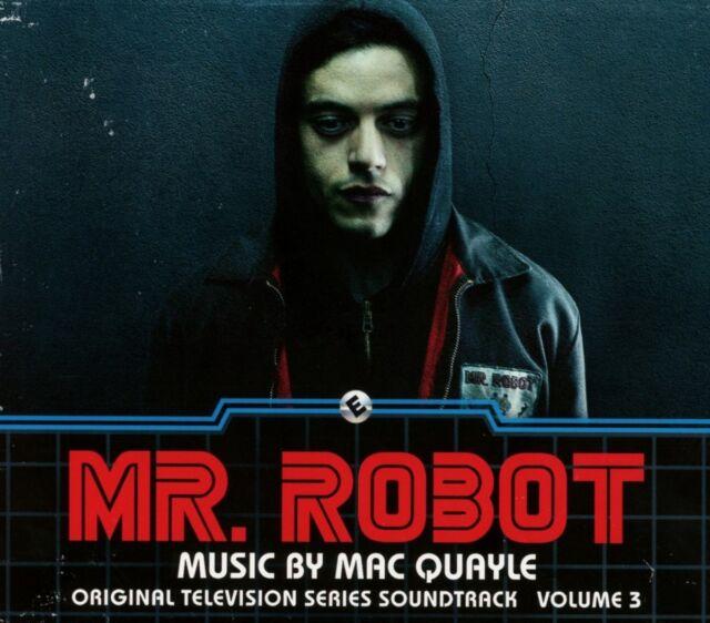 MAC QUAYLE Mr. Robot Season 1 Volume 3 (2017) 24-track CD album NEW/SEALED