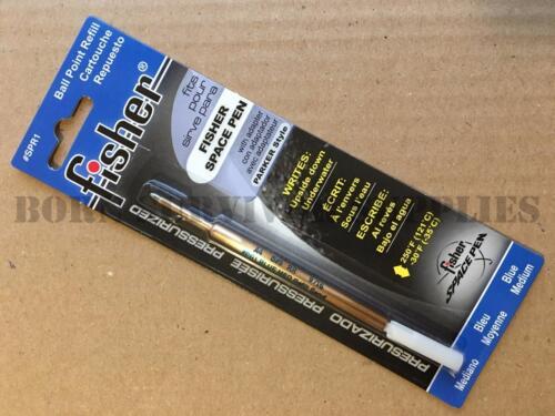 Fisher Space Pen Refill #SPR1 #PR1 Medium Ball Point Blue Ink Parker Style