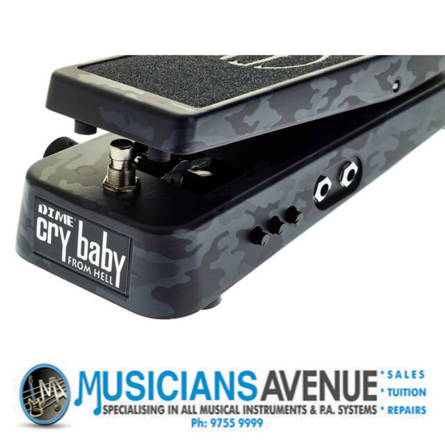 Jim Dunlop Dimebag Crybaby From Hell Wah Pedal