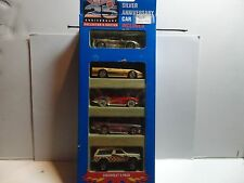 Hot Wheels 25th Anniversary Chevrolet 5 Car Gift Pack w/Purple '57 Bel Air
