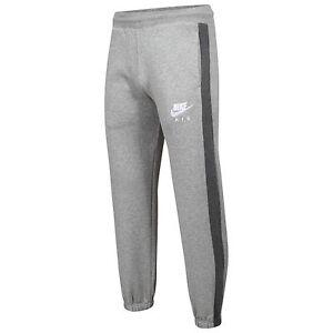 Detalles de Nike Air Calce Ajustado De Chándal Polar Chándal Pantalones Pantalones de Algodón Gimnasio Desgaste En Funcionamiento ver título original