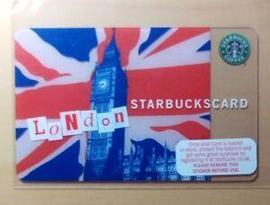 Rare-2007-034-BIG-BEN-034-Starbucks-UK-Payment-Card-ICM-271-6059