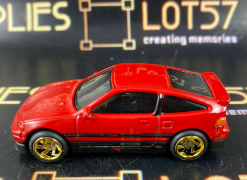 Hot Wheels 1:64 LOOSE 1988 Honda CRX Custom SUPER w//Real Riders