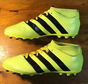 ADIDAS-ACE-16-3-primemesh-Chaussette-AG-Chaussures-De-Football-Taille-5-1-2-UK-38-5-UE-tres-bon-etat